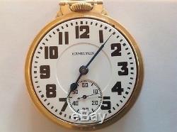 1934 Hamilton 950 23j Railroad Pocket Watch