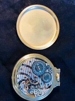 1934 Hamilton 950 railroad pocketwatch EXCELLENT condition