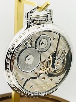 1935 Hamilton 992E 16S 21J Stainless Steel BOC Salesman Railroad Pocket Watch