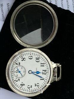 1937 Hamilton 992E Elinvar Pocket Watch WGF 14K Gold Filled #8 Wadsworth Case