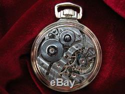 1938 Hamilton 950e Elinvar 23jewel Railroad Pocket Watch Hamilton Mainliner