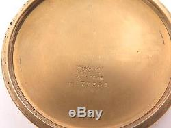 1938 Hamilton 992e Model 1, 16s 21j 10k G/f Pocket Watch Elinvar Hairspring