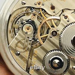 1939 Hamilton 992E 16S 21J Stainless Steel BOC Salesman Railroad Pocket Watch