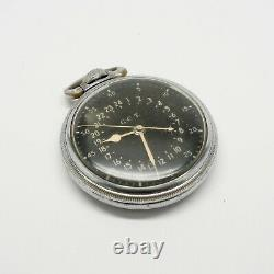 1941-1942 Hamilton AN5740 Master Navigation Chronometer 4992B Military Issue