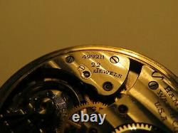 1941-2 Hamilton Railway Special 22 jewels 4992B, size 16s Gold-filled Runs