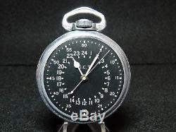 1941 Hamilton 4992B Navigation Master GCT Pocket Watch