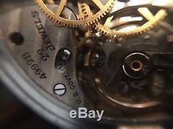 1941 Hamilton GCT 22j WWII 4992B Military Army Navigation Pocket Watch GEO Case