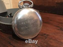 1942 Hamilton GCT 22j WWII 4992B Military Army Navigation Pocket Watch. 900 Case