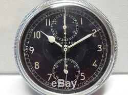 1942 WW II HAMILTON Model 23 US Military 19j Pocket Watch Chronometer