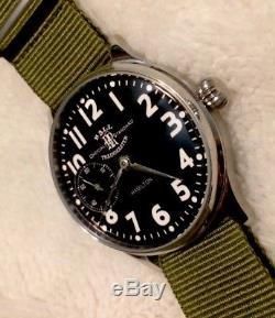 1944 Hamilton Ball Train Master Pocket Watch Conversion 917 Mechanical Serviced