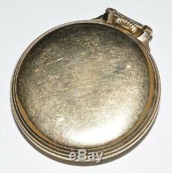 1945 Hamilton Railway Special 992B 16s 17j Open Face Gold Filled Pocket Watch