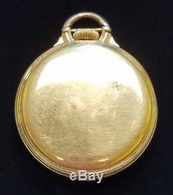 1945 Hamilton Railway Special 992B Pocket Watch 10K GF 16s 21 Jewels 6 Position