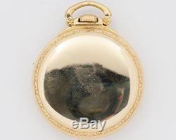 1948 Hamilton 16s 21jewel Adj. 992B Pocket Watch out of Estate