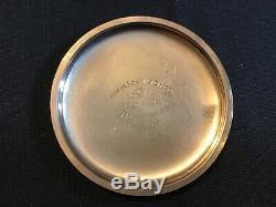 1950 Hamilton 992b 21 Jewels 16 Size Gold Filled Pocket Watch