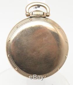 1950 Hamilton Railway Special Model A Pocket Watch 992B Gold Filled Railroad Grd