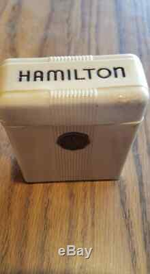 1951 HAMILTON MODEL 6, GRADE 950B, 23J, RAILWAY SPECIAL With Original Packaging