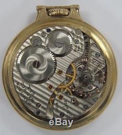 1951 Hamilton 992b 21 Jewel Railroad Pocket Watch (t1113)