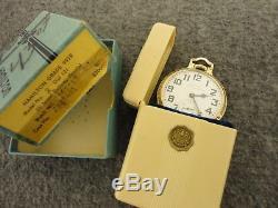 1952 HAMILTON 992B RAILWAY SPECIAL 10K GF 21J POCKET WATCH 16s-SERVICED+BOX/CASE