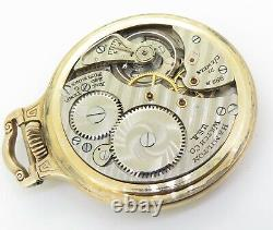 1952 Hamilton 21 Jewel G/F OF Railroad Special Cal 992B Size 16 Pocket Watch