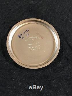 1968 16s HAMILTON 992B 21J Stainless RAILWAY SPECIAL Pocket Watch SERVICED 2018