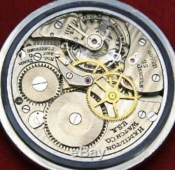 1970 Hamilton 4992B 16s 22j MILITARY Pocket Watch 4C LAST HAMILTONS Runs