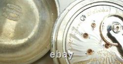 2-star Ball Hamilton Model 999 Pocket Watch 1910