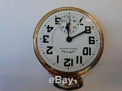 21 Jewel 10K Gold Filled Pocket Watch Hamilton 992B Railway Special