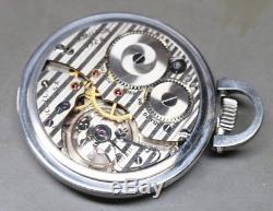 21 Jewel Hamilton Watch Company Pocket Watch WORKS! 992B Railway Special