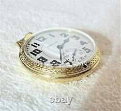 23 Jewel Hamilton 950B Railroad Pocket Watch Made In 1957 SERVICED
