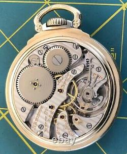 253 Hamilton 950B Gold Filled 23 jewel pocket watch. POCKET WATCH Running