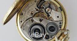 2pc Lot Hamilton 910 17jewel Not Working & Elgin 17jewel Working Pocket Watch