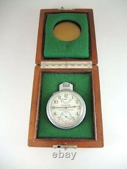 35s Model 22 Hamilton Deck watch with original outer boxes c1942