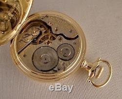 ANTIQUE HAMILTON 993 21j 14k GOLD FILLED HUNTER CASE 16s GREAT POCKET WATCH