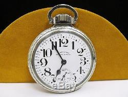ANTIQUE HAMILTON Railroad Special 14k Gold Filled POCKET WATCH 21 Jewels 992B