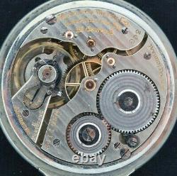 Antique 16Size 992 Hamilton 21J Railroad Grade Pocket Watch Runs 14k Gold Filled