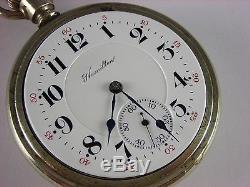Antique 16s Hamilton 954 Rail Road pocket watch 1911. 17 rubies. Salesman case