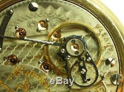 Antique 18s Hamilton 940 Rail Road grade 21j pocket watch. 1912. Very nice case