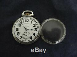 Antique 1902 Hamilton 992 21 Jewels Railroad Pocket Watch