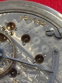 Antique 1903 Hamilton Grade 941 18s 21j Railroad Pocket Watch-Runs Great