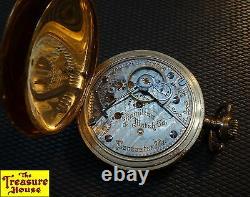Antique 1905 Hamilton Watch Co 940 21J 18S Railroad Pocket Watch Keystone J. Boss
