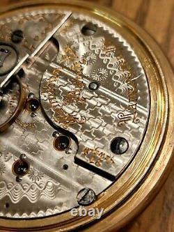 Antique 1907 HAMILTON 940 21 Jewels Size 18 Railroad Grade 10k GF Pocket Watch