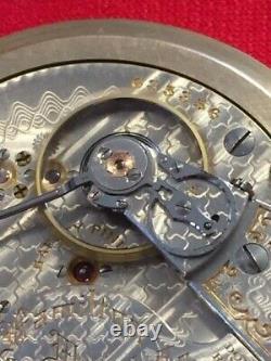 Antique 1909 Hamilton 940 18s 21j Railroad Pocket Watch-Runs Great