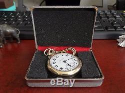 Antique 1910 Hamilton 992 10K Gold Filled 21-Jewels Pocket Watch Serial #1045876
