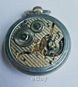 Antique 1913 Hamilton / Grade 992 / 21 Jewels / Size 16 / Pocket Watch