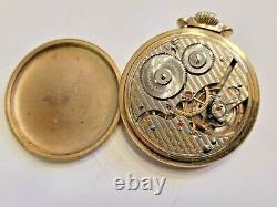 Antique 1918 Hamilton 992 Size 16 21 Jewels Railroad Grade Pocket Watch