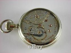 Antique Ball Hamilton 19 jewels 999G pocket watch. Brotherhood of Locomotive F&E