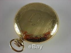 Antique Ball Hamilton 999D pocket watch 1898. Brotherhood of Locomotive Firemen