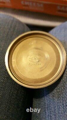 Antique HAMILTON 992B 21J RAILWAY SPECIAL 10K Gold-Filled Pocket Watch WORKING