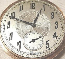 Antique HAMILTON Pocket Watch 16S 17J 1926 Runs Gold Filled
