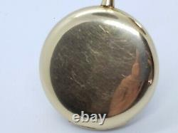 Antique Hamilton 14k solid yellow gold pocket watch
